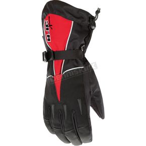 HJC Black/Red Extreme Gloves - 1015-013