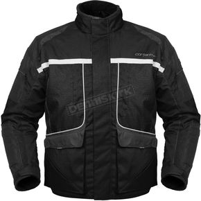 Cortech Womens Black Cascade Jacket - 8700-0205-76