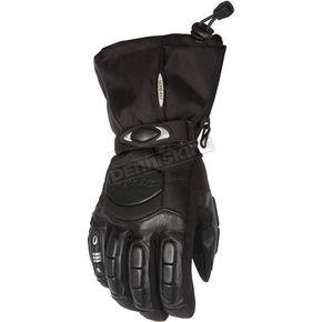Cortech Black Cascade Gloves - 8403-0205-03