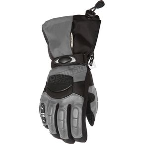 Cortech Womens Gunmetal/Black Cascade Gloves - 8403-0207-76