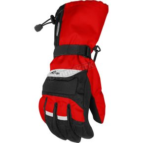 Cortech Red/Black Journey Gloves - 8403-0301-03
