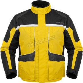 Cortech Womens Yellow/Black Cascade Jacket - 8700-0203-74