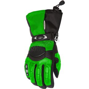 Cortech Womens Green/Black Cascade Gloves - 8403-0204-76
