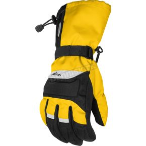 Cortech Youth Yellow/Black Journey Gloves - 8403-0303-55