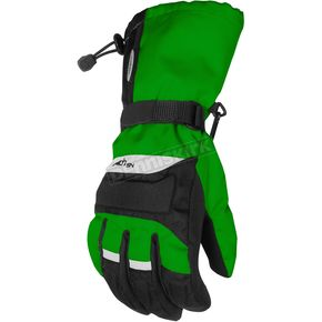 Cortech Youth Green/Black Journey Gloves - 8403-0304-57