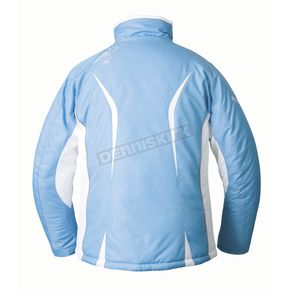 Mossi Womens Powder Blue Snow Fox 3 Jacket - MOS-205B-XL