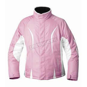 Mossi Womens Pink Snow Fox 3 Jacket - MOS-205P-L