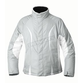 Mossi Womens Silver Snow Fox 3 Jacket - MOS-205S-L
