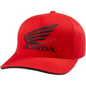 Fox Red Honda FlexFit Hat - 58317-003