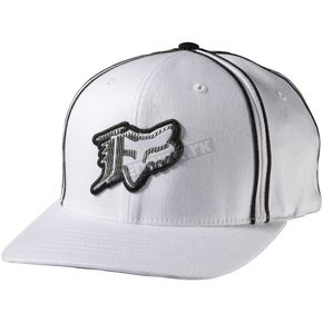 Fox I Got Problems White Flex-Fit Hat - 58358-008