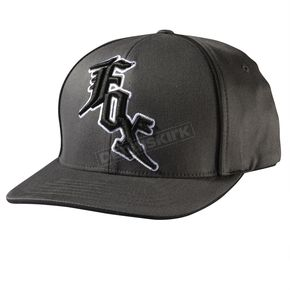 Fox Midnight Charcoal Flex-Fit Hat - 58595-028