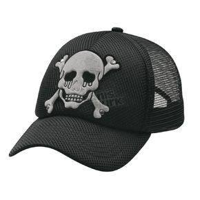 MA Apparel Trucker Skull Hat - 6881