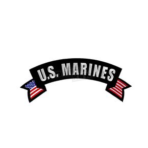 Hot Leathers U.S. Marines Patch - PPM2107