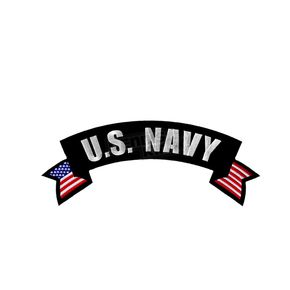 Hot Leathers U.S. Navy Patch - PPM2109