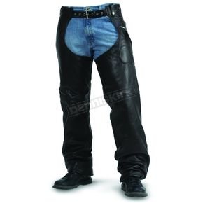 Milwaukee Motorcycle Clothing Co. Unisex Gunslinger Leather Chaps - M10066XXL