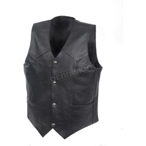 Mossi Leather Concealment Vest - BCS-1310-38