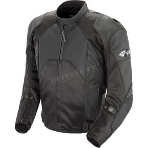 Joe Rocket Black Radar Leather Jacket - 1052-1054