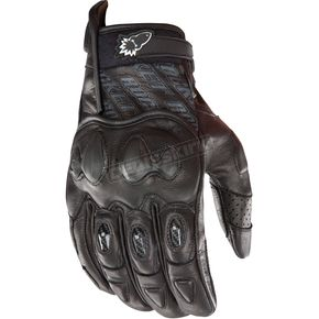 Joe Rocket Black Supermoto 2.0 Gloves  - 1056-5004