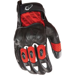 Joe Rocket Red/Black Supermoto 2.0 Gloves  - 1056-5104