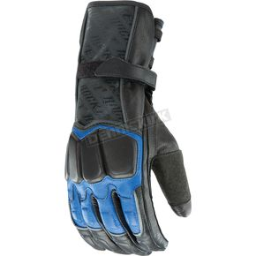Joe Rocket Blue/Black Highside 2.0 Gloves - 1056-8204