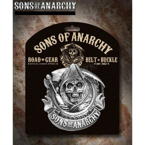 Sons of Anarchy SOA Reaper Belt Buckle - 28-950-52