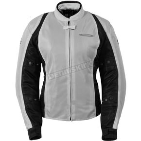 Fieldsheer Womens Black/Silver Breeze 3.0 Jacket - 6013-0107-76