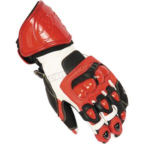 Fieldsheer Red/White/Black Circuit 2.0 Gloves - 6299-0101-08