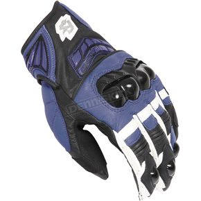 Fieldsheer Blue/White/Black Fury 2.0 Gloves - 6299-0202-07