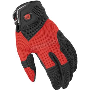 Fieldsheer Red/Black TI Air Mesh 2.0 Gloves - 6294-1201-06