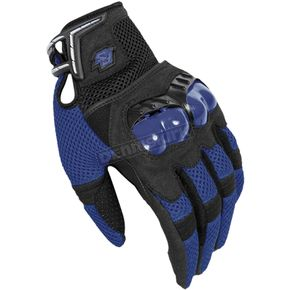 Fieldsheer Blue/Black Mach 6.0 Gloves - 6294-1402-06