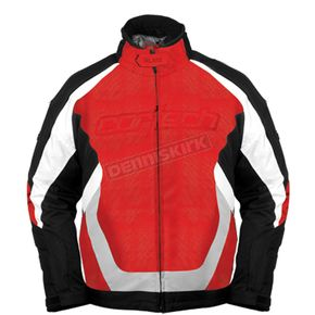 Cortech Red/Black Blitz Snowcross Jacket - 8900-0101-06