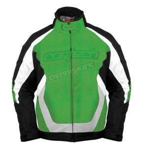 Cortech Green/Black Blitz Snowcross Jacket - 8900-0104-06