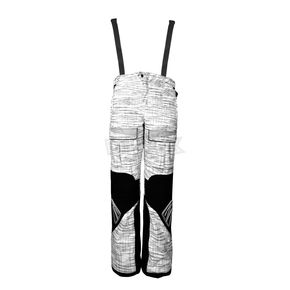 Cortech White/Silver/Black Blitz Snow Pants - 8900-0209-06