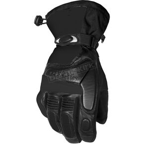 Cortech Black Blitz Snowcross Gloves - 8303-0105-09