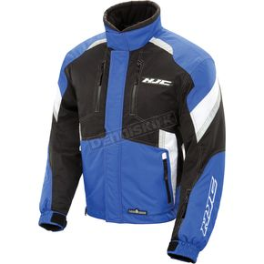 HJC Black/Blue Extreme Jacket - EXTREME