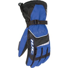 HJC Black/Blue Storm Gloves - 1224-024