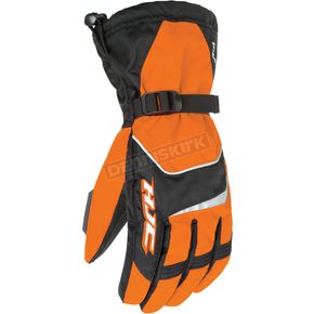 HJC Black/Orange Storm Gloves - 1224-074