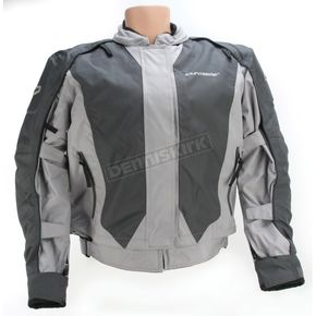 Tour Master Womens Silver/Gunmetal Flex Series 3 Jacket - 8758-0327-76
