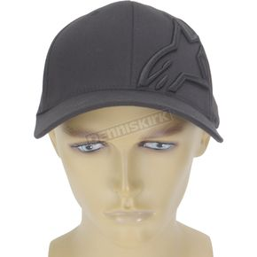 Alpinestars Black Corp Shift 2 Hat - 1032810081010LX