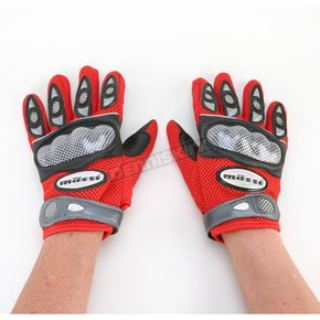 Mossi Red Armtec Gloves - BCS900RL