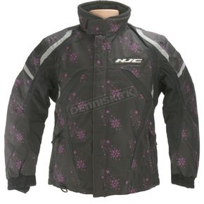 HJC Womens Limited Edition Black Storm Jacket - 1306-601