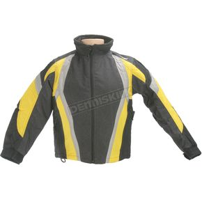 HJC Youth Black/Yellow Storm Jacket - 1308-034