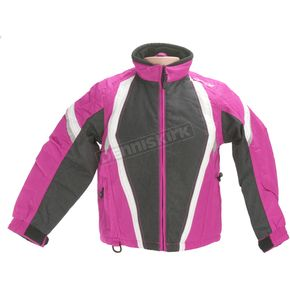 HJC Youth Black/Pink Storm Jacket - 1308-084