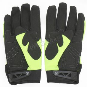 Joe Rocket Womens Hi-Viz Neon/Black Velocity Gloves - 1330-0402