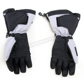 Cortech Black/Silver Journey 2.1 Snow Gloves - 8933-1407-05