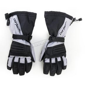 Cortech Black/Silver Journey 2.1 Snow Gloves - 8933-1407-08