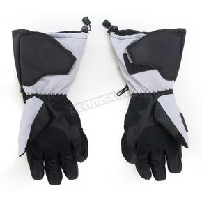 Cortech Black/Silver Cascade 2.1 Snow Gloves - 8943-1407-07