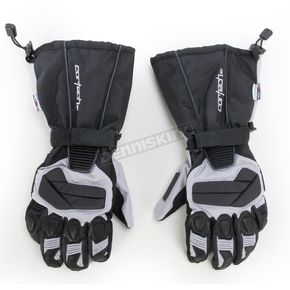 Cortech Black/Silver Cascade 2.1 Snow Gloves - 8943-1407-09