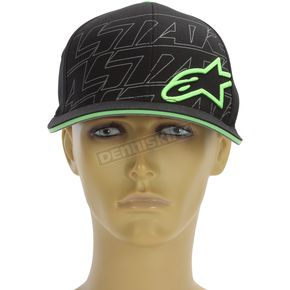 Alpinestars Black Metric Hat - 103681010-10LXL