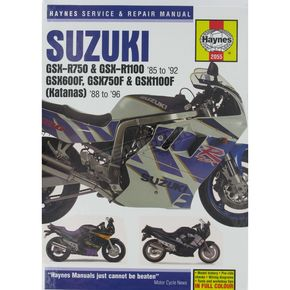 Haynes Suzuki Motorcycle Repair Manual  - 2055
